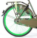 SALUTONI Urban Transportfiets Camouflage 28 inch 50 cm _