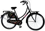 SALUTONI Urban Transportfiets Badges 28 inch 50 cm Shimano _