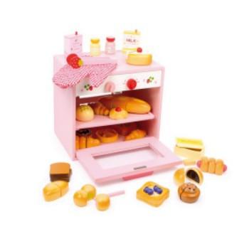 Houten speelgoed oventje Houten oven met accessoires 31 delig.