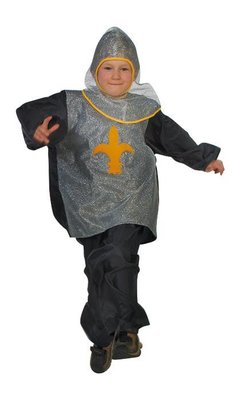 Ridderpak verkleedpak ridder vanaf 6 jaar tot en met 10 jaar verkleedpartij