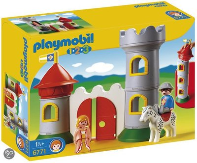 Playmobil 1 2 3 mijn eerste kasteel 6771