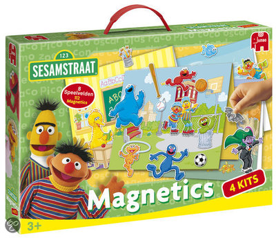 Sesamstraat Magnetics Super pack
