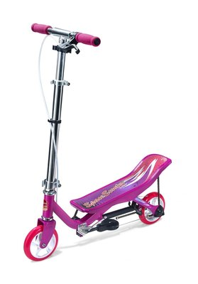 Space Scooter x360 Junior Roze