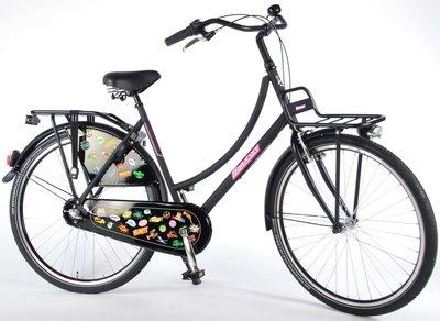 SALUTONI Urban Transportfiets Badges 28 inch 56 cm Shimano