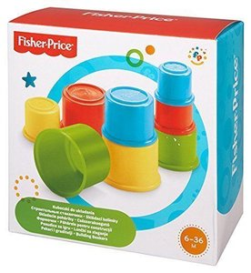 Stapelbekers Fisher Price